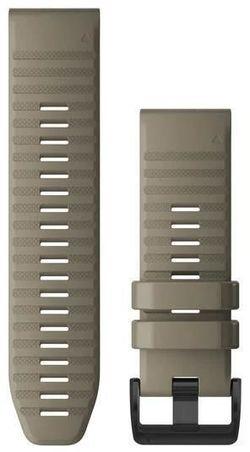 купить Аксессуар для моб. устройства Garmin QuickFit fenix 6X 26mm Dark Sandstone Silicone Band в Кишинёве