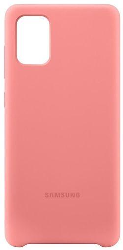 cumpără Husă telefon Samsung EF-PA715 Galaxy-A71 Case Pink în Chișinău
