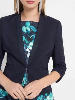 Пиджак ORSAY Темно синий 481251