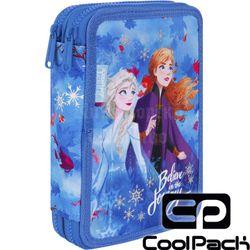 Пенал с 2 отделениями CoolPack с аксессуарами JUMPER XL - Frozen 2