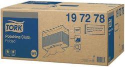 Tork нетканый материал для полировки в салфетках, W4, 50г/м2, 38.5*42.8, 140/5, A Белый, Premium