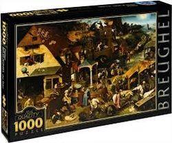 Пазл 1000 Pieter Breugel The Elder (BR 02), код 41407