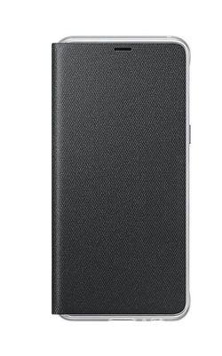 cumpără Husă pentru smartphone Samsung EF-FA530, Galaxy A8 2018, Neon Flip Cover, Black în Chișinău
