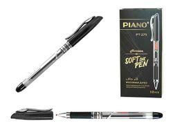 Ручка гелевая PT-275 soft ink,0.7mm, черная