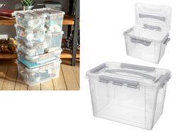 Container Econova Grand box 29X19X18cm, 6.6l, gri