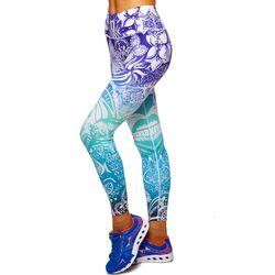 Leggins pt fitness/yoga L BK77 (4731)