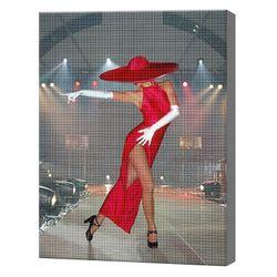 Страстный фламенко, 40x50 см, aлмазная мозаика