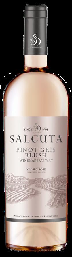 Вино Salcuta WW Pinot Gris Blush, розовое сухое, 0.75 Л