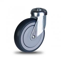 Колесо поворотное с отверстием – Ø100mm