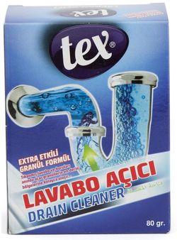 Гранулы для прочистки засоров канализационных труб TEX 75гр