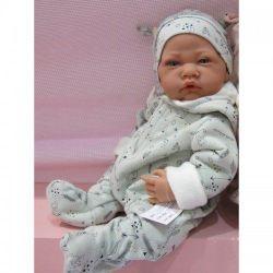 Doll baby cu un albastru manechin 40 cm Cod 3373