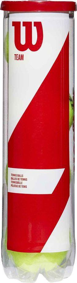 Мячи для большого тенниса (4 шт.) WILSON TEAM W PRACTICE TBALL WRT111900 (2167)