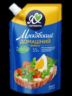 Майонез Московский провансаль домашний 67% 390 мл