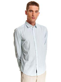 Рубашка TOP SECRET Зеленый в полоску skl2859