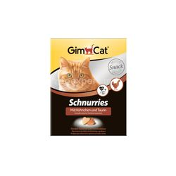 Gimcat лакомые сердечки с курицей 20 шт.