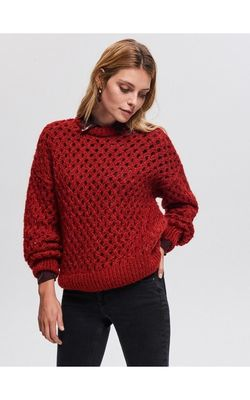 Трикотаж RESERVED Красный vl361-93x