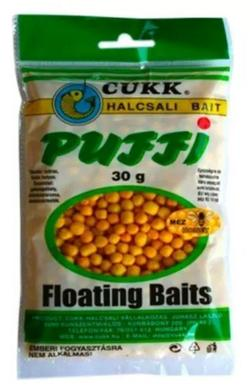 Aluat pufat Cukk Puffi Mini 30g (4–6mm) Galben / Miere