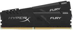 32GB DDR4-2666MHz  Kingston HyperX FURY (Kit of 2x16GB) (HX426C16FB3K2/32), CL16-18-18, 1.2V, Black