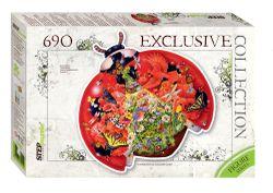 """Mozaic """"puzzle"""" 690 """"Ladybug"""" (puzzle Contour), cod 40793"""