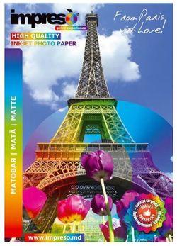 купить Фото-бумага Impreso IMP-MA4250050 Double-Side Matte A4, 250g, 50pcs в Кишинёве