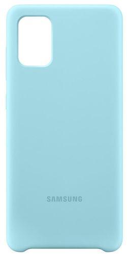 купить Чехол для моб.устройства Samsung EF-PA715 Galaxy-A71 Case Blue в Кишинёве