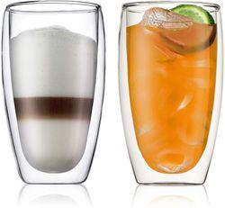 cumpără Pahar Bodum 456010 Pavina 2 pcs glass, 450ml în Chișinău