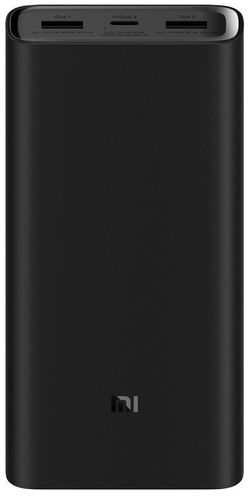 cumpără Acumulator extern USB (Powerbank) Xiaomi 20000mAh Mi Power Bank 3 Pro Black în Chișinău