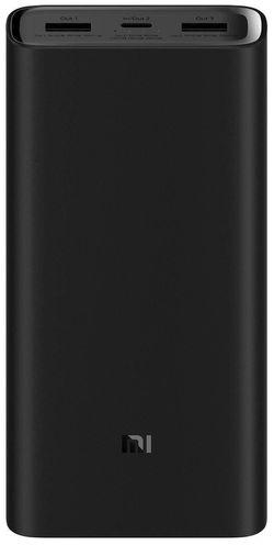 купить Аккумулятор внешний USB (Powerbank) Xiaomi 20000mAh Mi Power Bank 3 Pro Black в Кишинёве