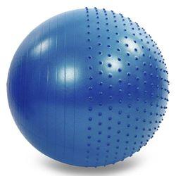 Мяч гимнастический массажный d=75 см FI-4437-75 (5205)