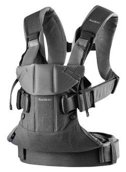Анатомический рюкзак-кенгуру BabyBjorn One Denim Grey