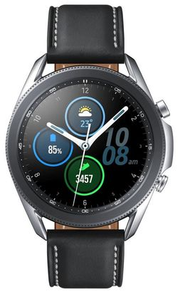 купить Смарт часы Samsung SM-R840 Galaxy Watch3 Bluetooth (45mm) Silver в Кишинёве
