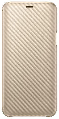 купить Чехол для моб.устройства Samsung EF-WJ600, Wallet Cover, Gold в Кишинёве