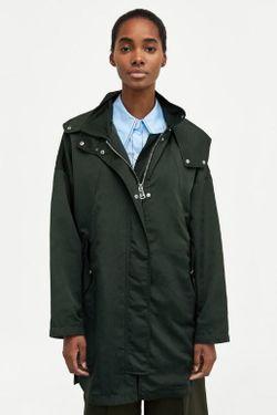 Куртка ZARA Темно зеленый 0518/062/500