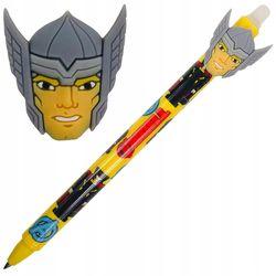Автоматическая шариковая ручка Colorino стираемая синяя 0,5 мм Marvel