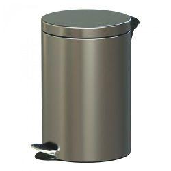Корзина для мусора с педалью Freedom FRESH  20L, 29.5*45cm, INOX SATINAT, ALD