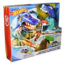 Set de jocuri de evacuare rechin  Hot Wheels, cod FNB21