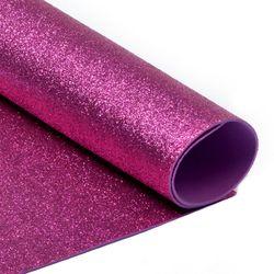 Foamiran cu sclipici Culoare: roz, A4