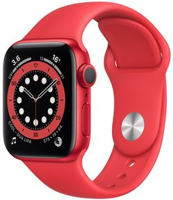 cumpără Ceas inteligent Apple Apple Watch Series 6 44mm PRODUCT(RED) Sport Band (M00M3) în Chișinău