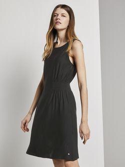 Платье TOM TAILOR Чёрный 1018715