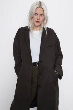 Куртка ZARA Темно зеленый zara 8443/636/507