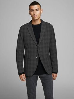 Sacou JACK&JONES Gri in carouri jack & jones 12158788