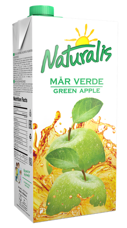 Naturalis нектар зеленое яблоко 2 Л