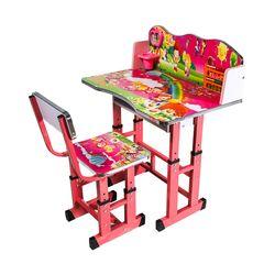 Детский столовый гарнитур со стулом 252 розовый