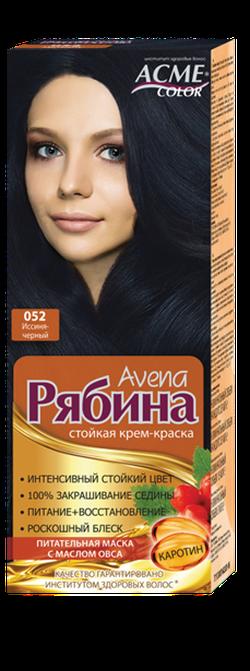 Краска для волос, ACME Рябина Avena, 100 мл., 052 - Иссиня-черный