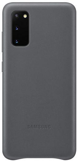 купить Чехол для моб.устройства Samsung EF-VG980 Leather Cover Gray в Кишинёве