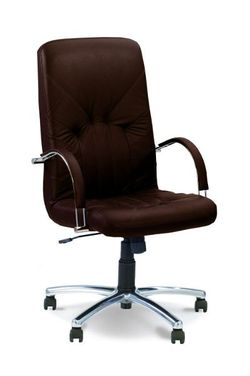 Офисное кресло Новый стиль Manager Steel Chrome Eco-31