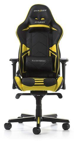 купить Gaming кресло DXRacer Racing GC-R131-NY-V2, Black/Yellow в Кишинёве