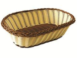 Корзинка для хлеба плетеная овальная 27X18.5X7cm