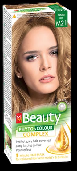 Vopsea p/u păr, SOLVEX MM Beauty, 125 ml., M21 - Blond auriu