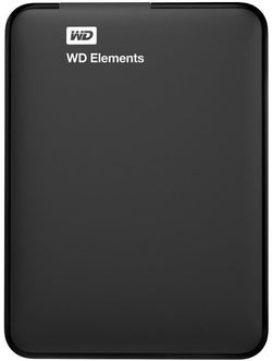 "cumpără Disc rigid extern Western Digital Elements 1TB 2.5"" USB 3.0 Black WDBUZG0010BBK în Chișinău"
